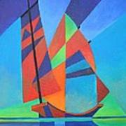 Nightboat Art Print