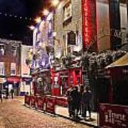Nights In The Temple Bar Art Print