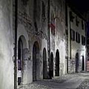 Nightscape. Iseo Art Print