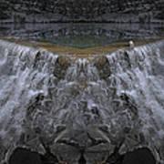 Nighttime Water Tumble Art Print