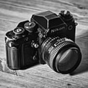 Nikon F3 Art Print by Taylan Apukovska