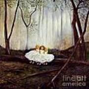 Ninas En El Bosque Art Print