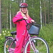 Nine Million Bicycles - Sweden. Art Print