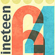 Nineteen 64 Art Print