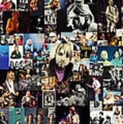 Nirvana Collage Art Print by Taylan Apukovska