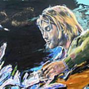 Nirvana - Kurt Cobain Art Print