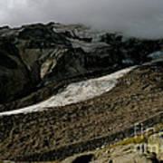 Nisqually Glacier Art Print