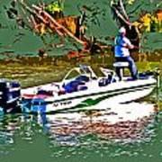Nitro Bass Boats Art Print