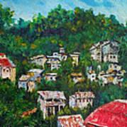 Nivel Hills Cebu Art Print