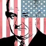 Lyndon Johnson Art Print