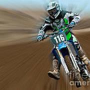 Motorcross No. 116 Art Print