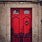 No. 24 - The Red Door Art Print