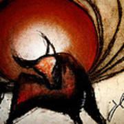 No Bullfights Art Print