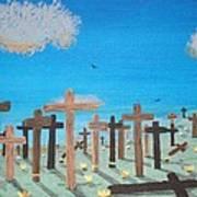No Cross No Crown 2 Art Print