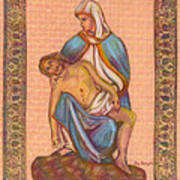 No Greater Love - Jesus And Mary  Art Print