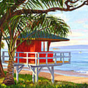 No Guard On Duty - Kamaole Beach Art Print