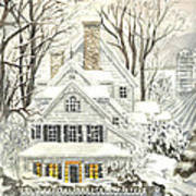 No Place Like Home For The Holidays Art Print
