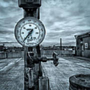 No Pressure Or The Valve At The Top Of The City  Art Print by Bob Orsillo