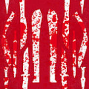 No114 My Machete Minimal Movie Poster Art Print