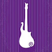 No124 My Purple Rain Minimal Movie Poster Art Print by Chungkong Art