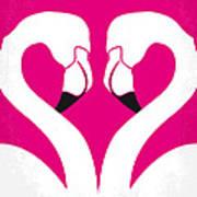 No142 My Pink Flamingos Minimal Movie Poster Art Print by Chungkong Art