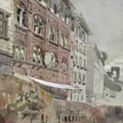 No.1590 Palazzo Agostini, Pisa, 1845 Art Print