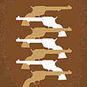 No197 My The Magnificent Seven Minimal Movie Poster Art Print by Chungkong Art
