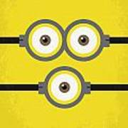 No213 My Despicable Me Minimal Movie Poster Art Print