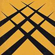 No222 My Wolverine Minimal Movie Poster Art Print