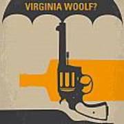 No426 My Whos Afraid Of Virginia Woolf Minimal Movie Poster Art Print