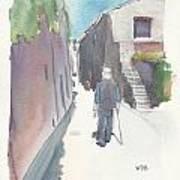 No.8 Sur La Route De Venasque Art Print