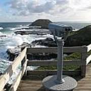 The Nobbies Outlook - Great Ocean Road, Australia Art Print