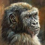 Noble Ape Art Print