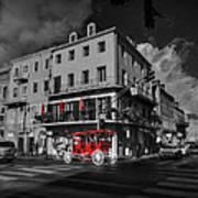 Nola - French Quarter 003 Ck Art Print