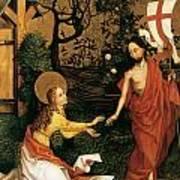 Noli Me Tangere Art Print by Martin Schongauer