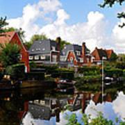 Noorder Amstelkanaal Amsterdam Art Print