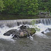Nora Mill Dam - Chattahoochee River Art Print