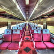Norfolk And Western Passenger Coach Art Print