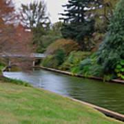 Norfolk Botanical Gardens Canal 3 Art Print