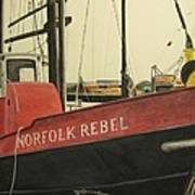 Norfolk Rebel Art Print