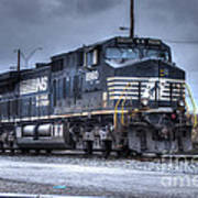 Norfolk Southern #8960 Engine II Art Print