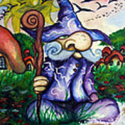 Norm The Little Old Wizard Art Print