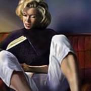 Norma Jeane Baker Art Print by Reggie Duffie