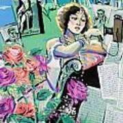 Norma Shearer Art Print