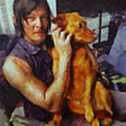 Norman And Charlie  Art Print