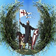 Norman Crusader Art Print