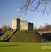 Norman Keep Cardiff Castle Art Print