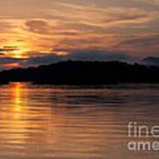 Norris Lake Sunrise Art Print