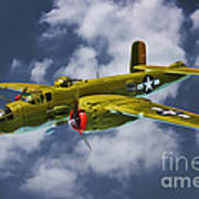 North American B-25j Art Print