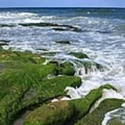 North Carolina Coastal Rocks Art Print